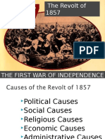 The Revolt of 1857, India