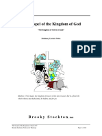 The Gospel of the Kingdom of God, Form #17.003