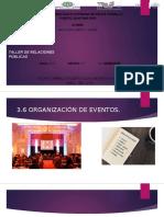 Organizacion de Eventos 3.6