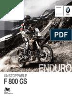 Catalogo F 800 GS