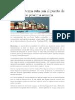 Maersk Retoma Ruta Con El Puerto de Montevideo