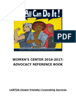 womens center advocay reference book