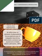 Clase 2 - Clima Organizacional y Comportamiento Organizacional