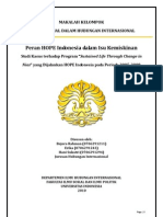 """Peran HOPE Indonesia dalam isu kemiskinan, Studi Kasus terhadap Program """"Sustained Life Through Change in Nias"""" yang Dijalankan HOPE Indonesia pada Periode 2005-2008"""
