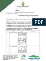 Leitura e Fichamento Psicologia