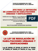 Curso de Licencias - Supervisores Municipalesç