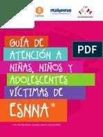 Guia Atención a niñas, niños y adolescentes víctimas de ESNNA