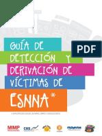 Guia de detección y derivación de víctimas de ESNNA