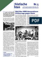 antifaschistische nachrichten 2007 #05