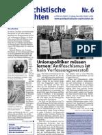 antifaschistische nachrichten 2007 #06
