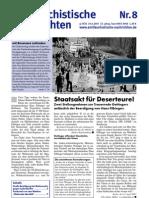 antifaschistische nachrichten 2007 #08