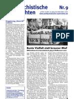 antifaschistische nachrichten 2007 #09