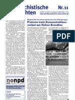 antifaschistische nachrichten 2007 #11