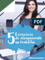 eBook 5 Exercicios de Alongamento No Trabalho