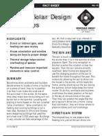 Passive Solar Design for Homes