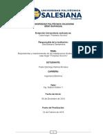 Informe Extensiones Universitarias UPS