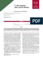 Organic Letters Volume 1 Issue 12 1999 [Doi 10.1021_ol991200m] Takahashi, Shunya; Maeda, Katsuya; Hirota, Shinsuke; Nakata, Tad -- Total Synthesis of a New Cytotoxic Acetogenin, Jimenezin, And the R