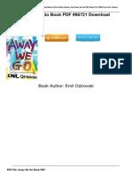 [G.O.O.D] Download Away We Go Book PDF