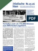 antifaschistische nachrichten 2007 #25