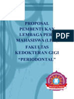 Proposal Pembuatan Lpm Periodontal