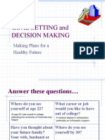 student goal setting and decision making