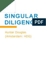 HDG HunterDouglas Singular Diligence June15