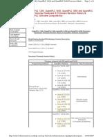 Compatibilidad de Software y Firmware