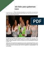 2016-05-30 Enrique Está Listo Para Gobernar,Vicky Serrano