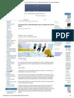 Herramientas Para La Dirección de Las Obras - Noticias de Arquitectura - Buscador de Arquitectura