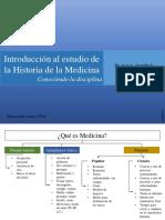 Introducción a La Historia de La Medicina