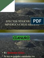 Efectostxicosdelamineraacieloabierto Cianuro 140214152006 Phpapp01
