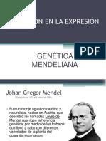 3.1) Variación en La Expresión Generalidades Oct 2015