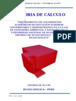 Memoria de Cálculo - Cisterna