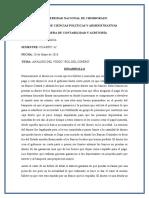 Rol Del Dinero