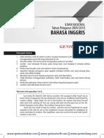 Download Soal dan Pembahasan UN Bahasa Inggris SMP 2009-2010