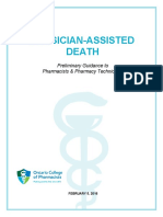 Pharmacists and Physician Assisted Death