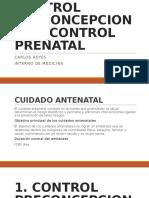 01. Control Preconcepcional y Prenatal