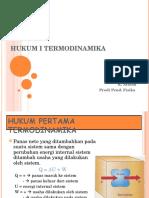 Hukum Termodinamika 3 April 2011