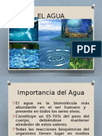 El Agua - Ionizacion Clase 2 -2016-I