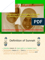 What Quran Says About as-sunnah