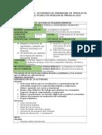 planificación Módulo Gestón de Pequeña Empresa