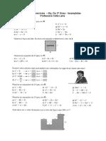 - Equações Do 2 Grau