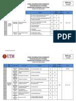 Postgraduate Studies Examination Schedule Semester 2 20152016 FINAL (1)