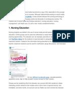 4 Positive Uses of Social Media in Nursing
