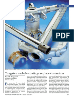 Tungston Carbide v-s Chromium Plating