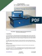 W8AV Triangular Array Manual