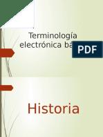 Terminologia electronica basica