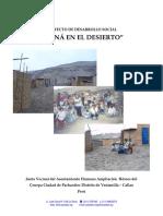 Proyecto de desarrollo social