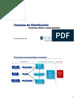Diseño de Canales de Distribución CIX 2014