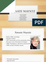 Renate Mayntz